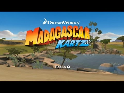 Madagascar Kartz Wii Gameplay