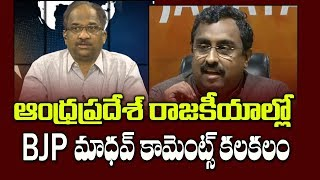 ఆంధ్రప్రదేశ్ రాజకీయాల్లో BJP మాధవ్ కామెంట్స్ కలకలం   BJP Leader Comment Stirs AP Politics  