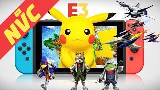 Pokemon Switch Leaks, Rumored Star Fox Spin-Off From Retro, Nintendo's E3 Presence, & More - Ep. 408