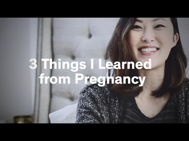 3 Things I learned from Pregnancy