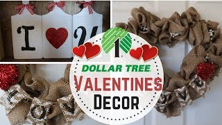 DIY Dollar Tree Valentines Day Decor  2 DIY Valentines Decor  