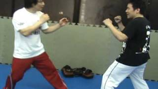 seido kaikan,coach minatoya's technique seminer  low kick