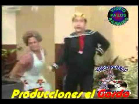 El Chavo Bailando Champeta Xvid video