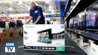 01. Unboxing Hisense 55 inch Smart TV – available at The Good Guys
