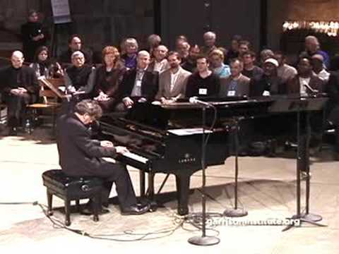 Philip Glass performs Mad Rush