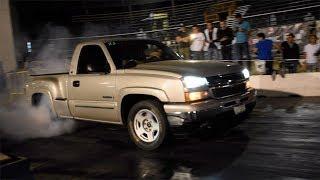 Cheyenne Vs S10 - Jeep Endiablado - Golf R Vs Challenger R/T   ARRANCONES AUTÓDROMO CULIACÁN