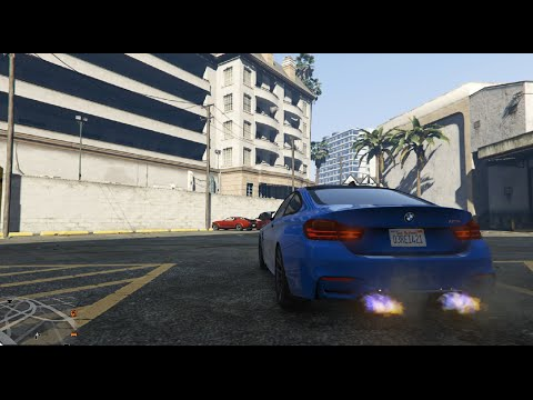 GTA V | Laguna Seca Blue BMW M4 - Overview episode 1