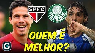 Quem é melhor? Análise POSIÇÃO por POSIÇÃO no clássico São Paulo x Palmeiras (15/03/19)