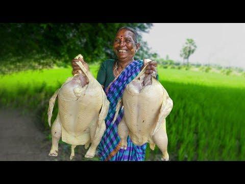అవ్వ కుండ చికెన్ ఎలా చేసిందో చూస్తే మీ నోరురుతుంది | Chicken Curry  | తెలంగాణ కుండ చికెన్