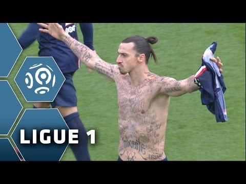 Goal Zlatan IBRAHIMOVIC (2') / Paris Saint-Germain - SM Caen (2-2) - (PSG - SMC) / 2014-15