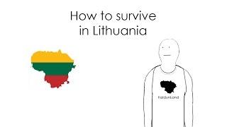 American explores Vilnius Lithuania! | Evan Edinger Travel