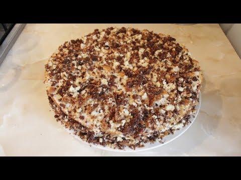 Торт Сметанник. Рецепт проверенный годами, очень нежный и вкусный!
