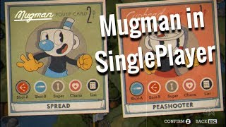 Cuphead - How to play as Mugman in Singleplayer