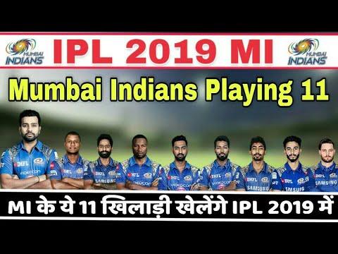 IPL 2019 : Mumbai Indians Confirm Playing 11 | Mi Playing Xi In IPL 2019, Yuvaraj Singh Jayant Yadav