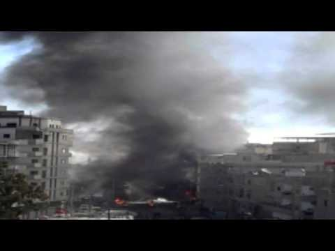 Syria - Deadly Damascus blasts cast shadow over Geneva talks - by Zara Zaher