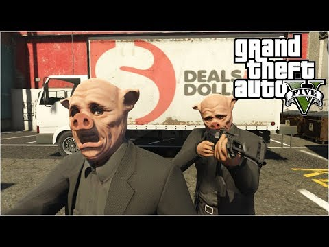 GTA 5 Online - The ONE minute ROBBERY ! (GTA Short Film) klip izle