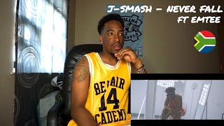 J-Smash FT Emtee - Never Fall (REACTION)