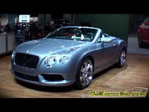 Bentley Continental GT & GTC (2012 NY Auto Show)