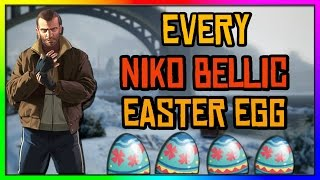 GTA 5 - Every Niko Bellic Easter Egg In GTA 5!!!