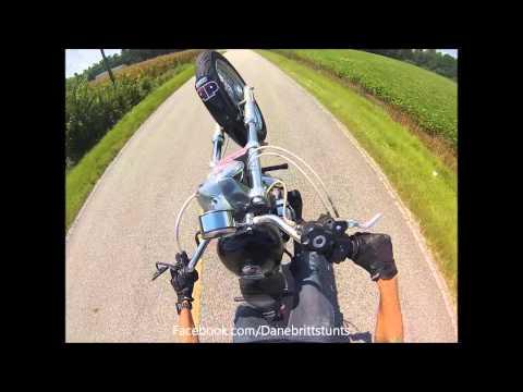 2007 Harley Sportster 883 with 1200 motor kit!! Street wheelie!!