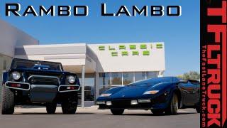 Lamborghini Countach & Lamborghini LM002: The Rambo Lambo Truck Driven