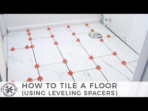 How to Tile a Small Bathroom Floor | DIY Bath Remodel