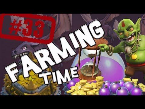 Farming time. un poco de emoción - Descubriendo Clash of Clans #33 [Español]