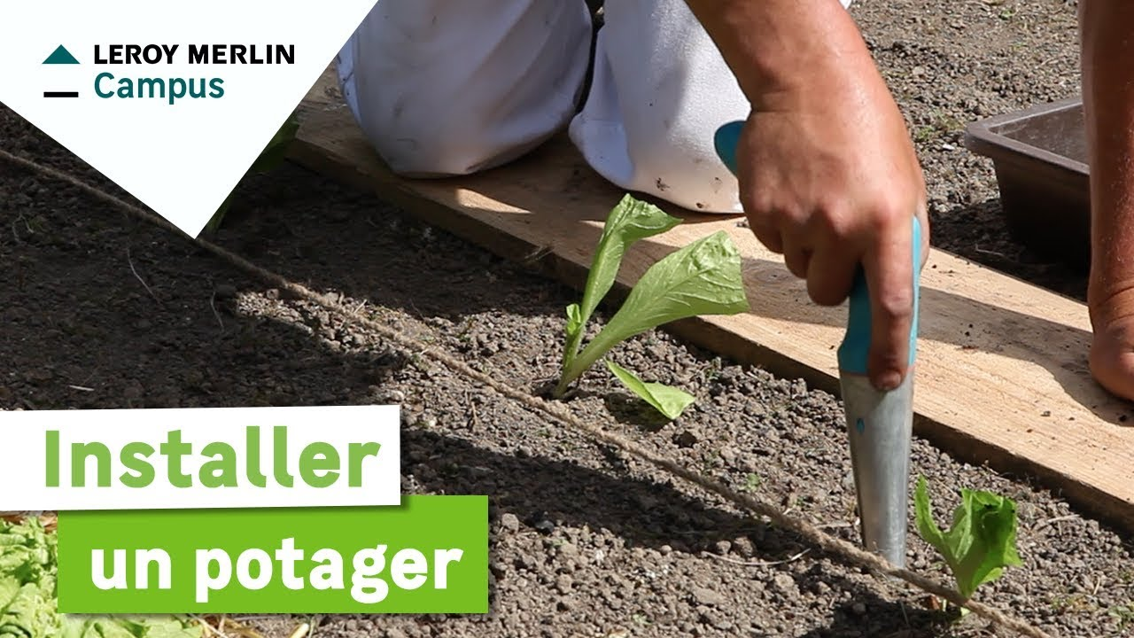 Comment installer un potager leroy merlin youtube for Organiser son jardin potager