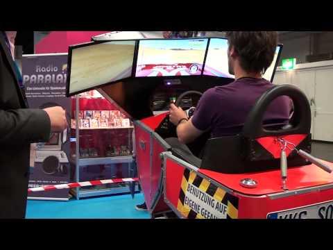 DIY Motion Racing and Flight Simulator - High School Project