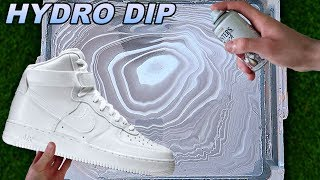 HYDRO Dipping AIR Force 1's! -4