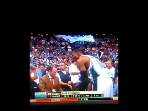 Orlando Magic Dwight Howard mocks Lebron James