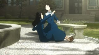 "Kara no Kyoukai 6 - Azaka ""Punch"" scene"