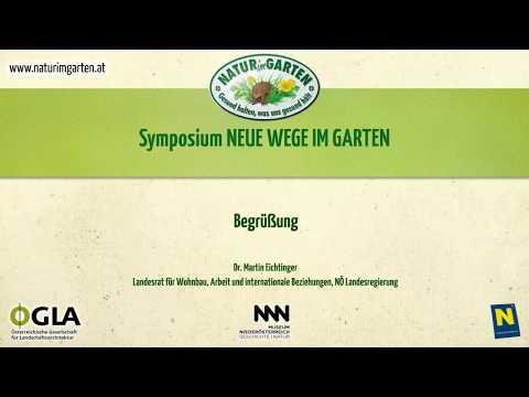 Symposium Neue Wege im Garten: Begrüßung