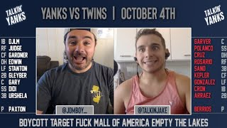 Yanks vs Twins | ALDS Game 1 | Pre-Game Show