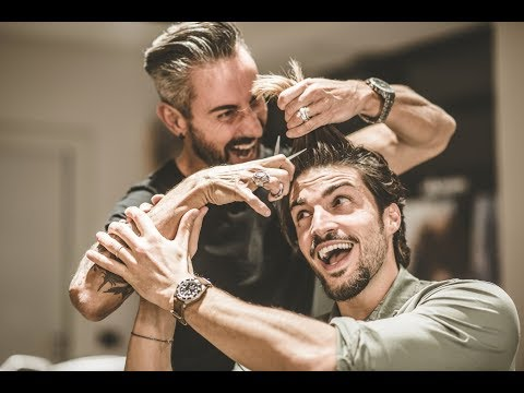 MARIANO DI VAIO HAIR STYLE TUTORIAL 2018 - MESSY HAIRCUT FOR MEN