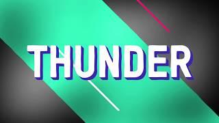 Download Lagu Imagine dragons - Thunder    Kinetic typography Gratis STAFABAND