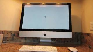 New 2011 Apple iMac Unboxing and Startup_ 21.5 Model