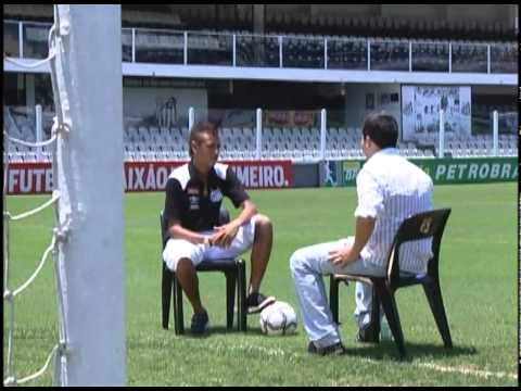 FootBrazil's interview with Santos and Brazil star Neymar