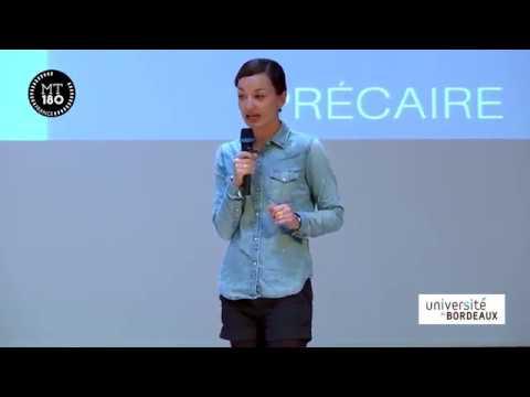 Ma thèse en 180 secondes 2017 : Camille Ouvrard, lauréate de la finale de l'université de Bordeaux