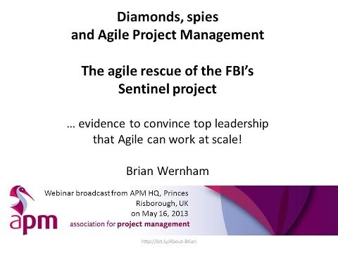 Diamonds, Spies and Agile Project Management - webinar recording