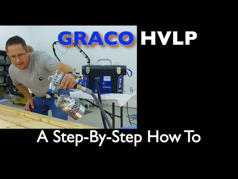 Graco Finish Pro HVLP 9.5 How To Spray