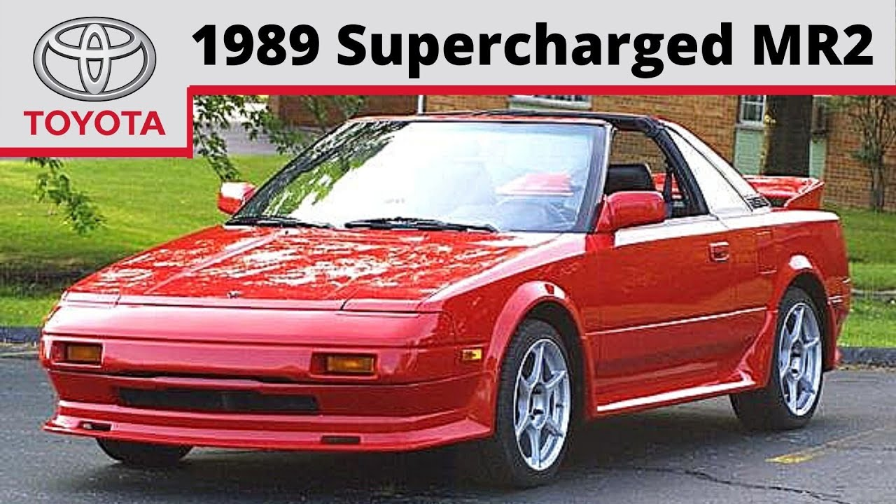 1989 Supercharged Toyota Mr2 Youtube