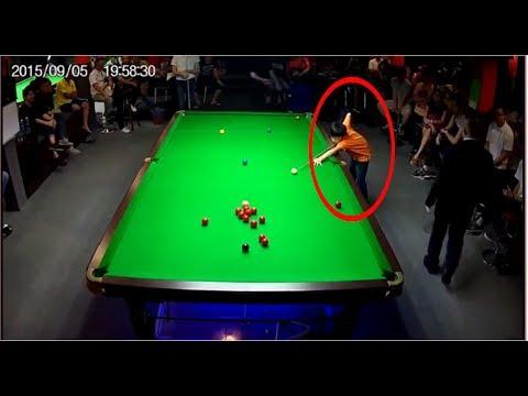 Anak kecil vs orang dewasa tarung snooker - Billiard Pool