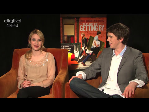 Emma Roberts and Freddie Highmore on The Art Of Getting By