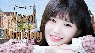 download lagu Fromis_9 프로미스나인 Vocal Ranking gratis