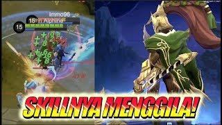 GA MASUK AKAL SKILL 2 ALPHA! DIBUFF LAGI! • Mobile Legends Indonesia