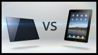Xperia Tablet Z vs iPad 4