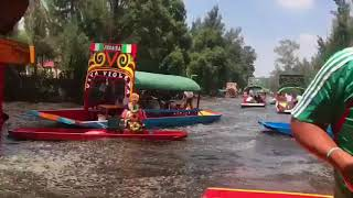 Earthquake from a boat - Mexico - 19 September 2017