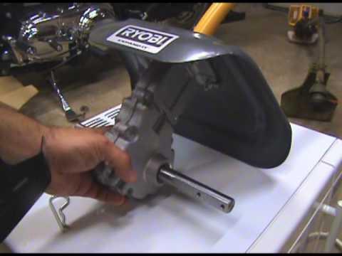Assembling a Rototiller Attachment for Cub Cadet trimmer