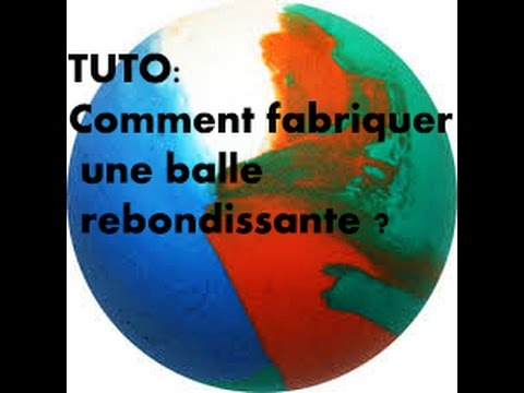 Fabrication Balle Rebondissante Une Balle Rebondissante